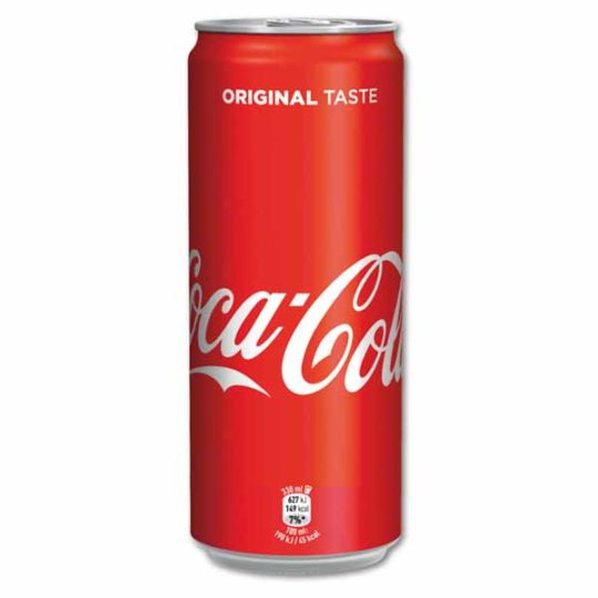 Coca Cola 330 ml slim