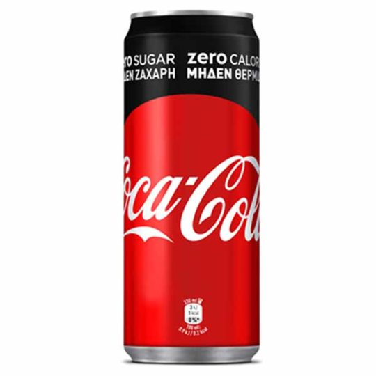 Coca Cola Zero 330 ml slim