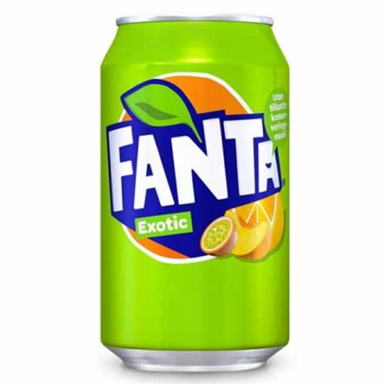 fanta exotic 330 ml